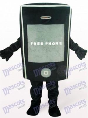 Teléfono negro para promoción Disfraz de mascota
