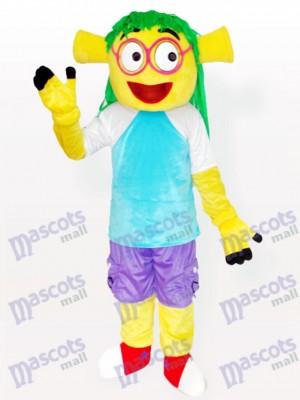 Sonriendo Wen Dudu Adulto Disfraz de mascota