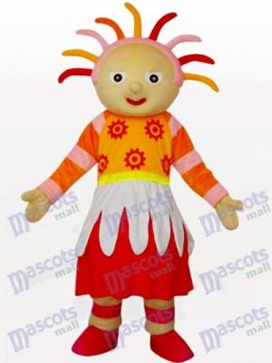 Chica de sol brillante Disfraz de mascota