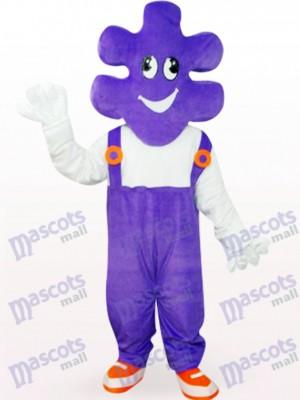 Púrpura Mr.Maquillaje Mr.Makeup Adulto Disfraz de mascota