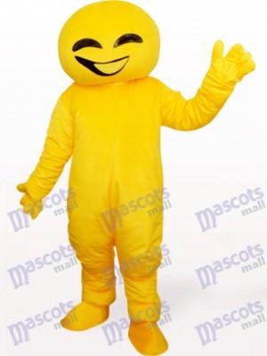 Muñeca amarilla Disfraz de mascota