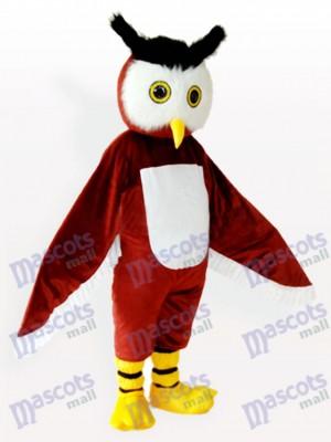 Búho marrón Animal adulto Disfraz de mascota
