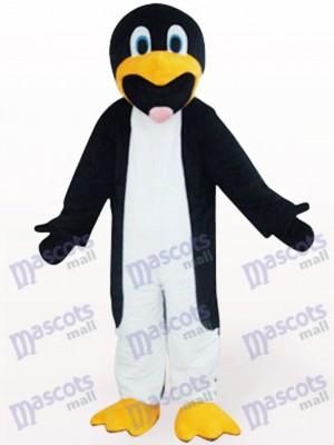 Pingüino delgado blanco y negro Disfraz de mascota