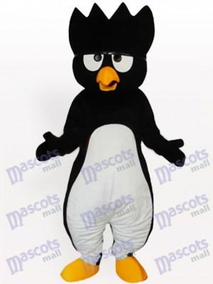 Pingüino negro vientre blanco adulto Disfraz de mascota