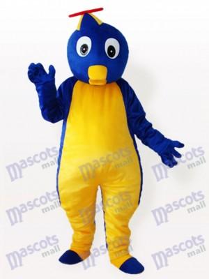 Pingüino azul con sombrero volador Disfraz de mascota