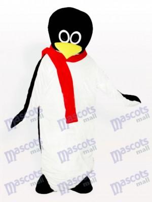 Bebé pingüino con pañuelo rojo Disfraz de mascota