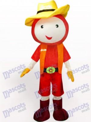 Muñeca Sombrero de Paja Disfraz de mascota