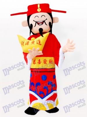 Mammon chino adulto Disfraz de mascota