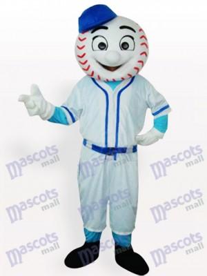 Sr. Met Mets Hombre de béisbol adulto Disfraz de mascota
