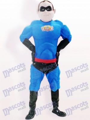 Superman Poliéster Bengalino Dibujos animados Adulto Disfraz de mascota