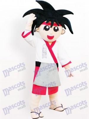 Chico japonés genial Disfraz de mascota