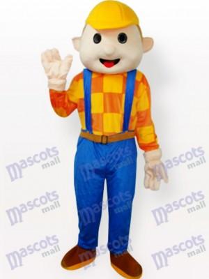 Niño sombrero amarillo Disfraz de mascota