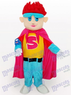 Chico Guapo De Pelo Rojo Disfraz de mascota