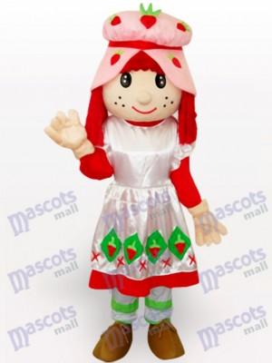 Chica Tarta De Fresa Disfraz de mascota