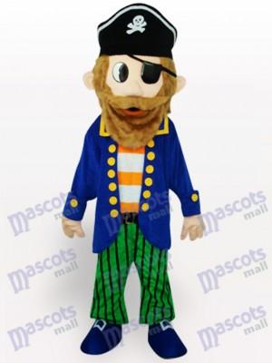 Pirata colorido Disfraz de mascota