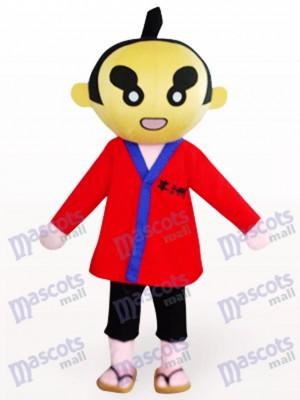 Gente Sumoto en ropa roja Disfraz de mascota