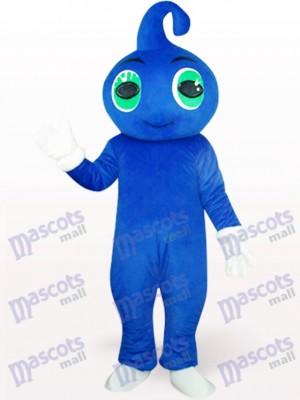 Lindo bebé azul Disfraz de mascota