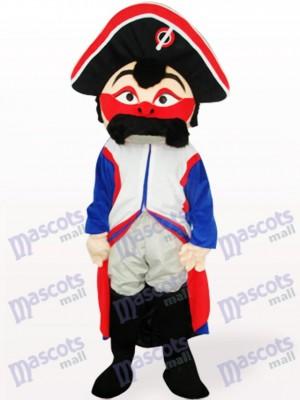Pirata de cara roja Disfraz de mascota