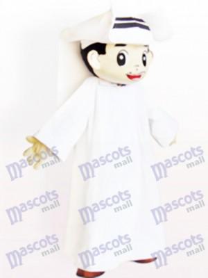 Dibujos animados de hombre árabe Disfraz de mascota