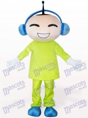 Dibujos animados de muñeca de antena Disfraz de mascota