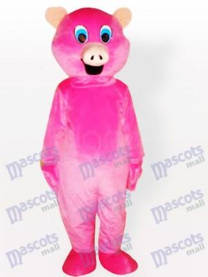 Animal adulto cerdo rosa Disfraz de mascota