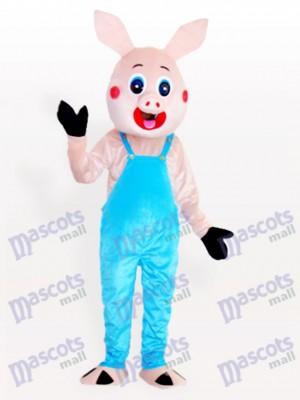 Sr. cerdo en peto Disfraz de mascota