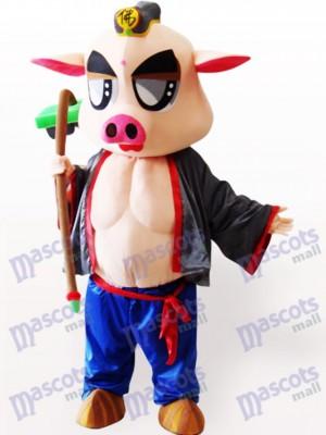 Piggie Animal Adulto Disfraz de mascota