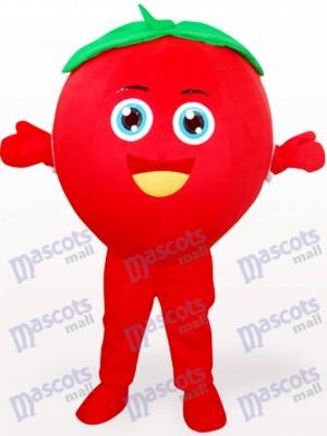 Tomate sonriente Disfraz de mascota Fruta