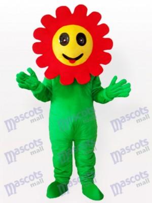 Planta de girasol riendo Disfraz de mascota