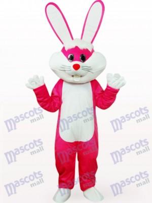 Conejito de Pascua en ropa rosa Disfraz de mascota Animal