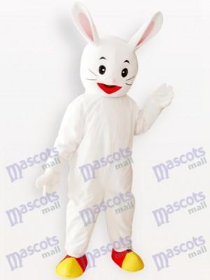 Conejo Conejito de Pascua Blanco Disfraz de mascota Animal