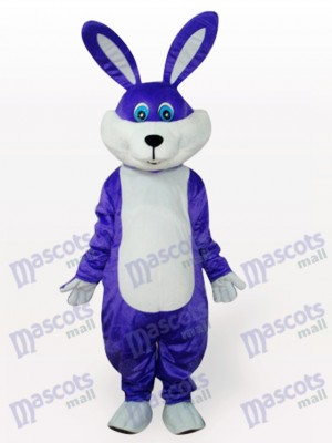 Conejo de Pascua morado Disfraz de mascota Animal