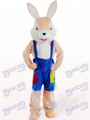 Conejo Gracioso Rosa Pascua Disfraz de mascota Animal