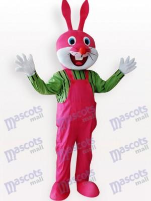 Conejo de Pascua en Overoles Chaleco Disfraz de mascota Animal