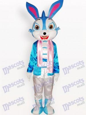 Conejo de Pascua con Abrigo Azul Disfraz de mascota Animal