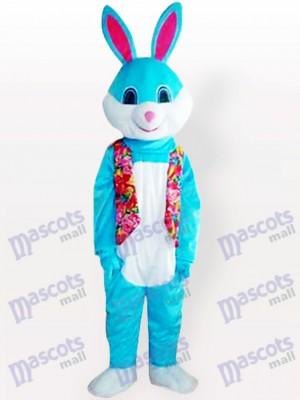 Conejito de Pascua azul Disfraz de mascota Animal