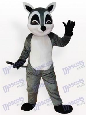 Mapache delgado adulto Disfraz de mascota Animal