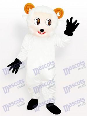 Pequeño blanco Oveja Disfraz de mascota Animal