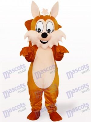 Ardilla marrón con cola grande Disfraz de mascota Animal