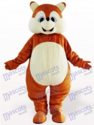 Ardilla gorda adulta Disfraz de mascota Animal
