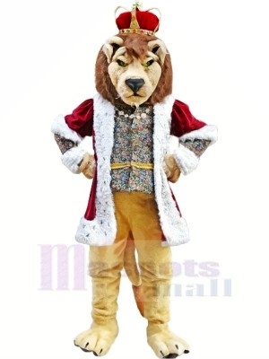 Rey Leon Disfraz de mascota