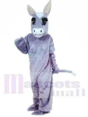 Lindo burro ligero Disfraz de mascota