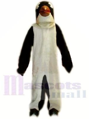 Lindo pingüino ligero Disfraz de mascota