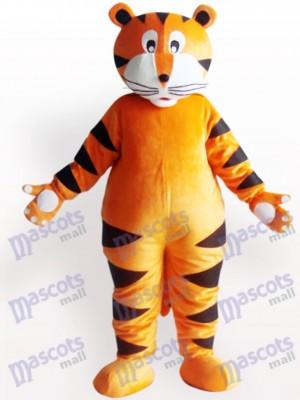 Tigre con garra blanca Animal adulto Disfraz de mascota