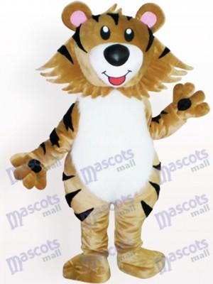 Lindo tigre marrón Animal adulto Disfraz de mascota