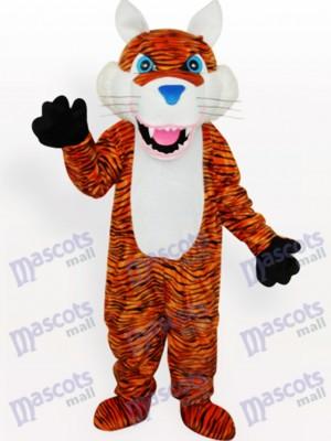 Tigre con nariz azul Animal adulto Disfraz de mascota