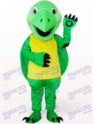 Linda tortuga verde Disfraz de mascota Animal