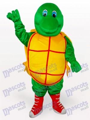 Tortuga verde sonriente Disfraz de mascota Animal