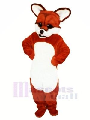 Feroz zorro rojo Disfraz de mascota