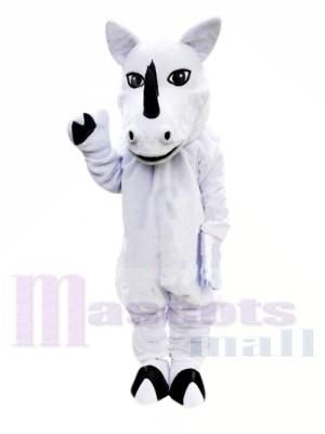 Rinoceronte blanco Disfraz de mascota